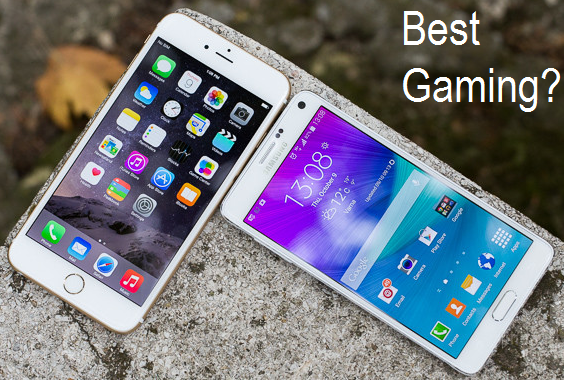 Galaxy Note 4 vs iPhone 6 Plus - The Best Gaming Phablets Comparison