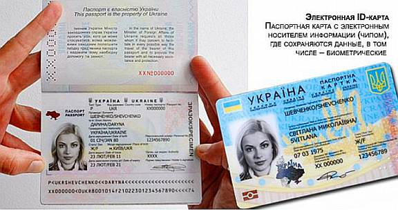 О новых биометрических паспортах гражданина Украины в России