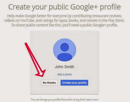 Google+ is not required for new Gmail user - Kartik Pandya Overview