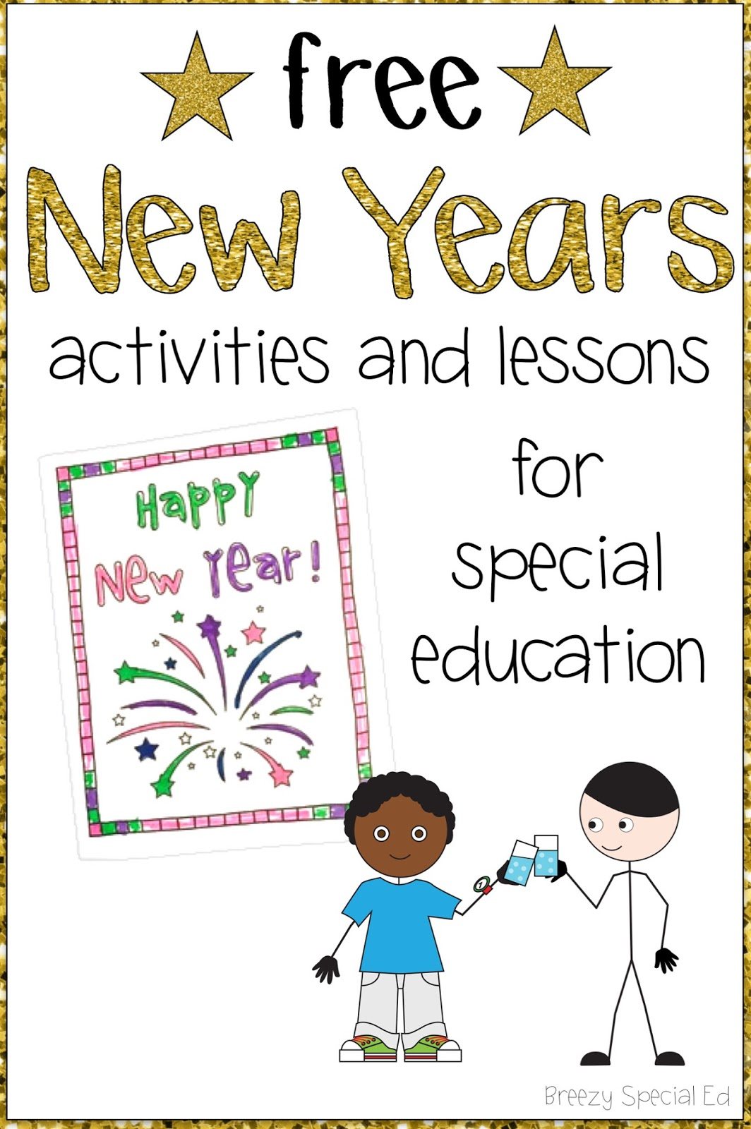 New Years Resolutions And Activities For Special Education