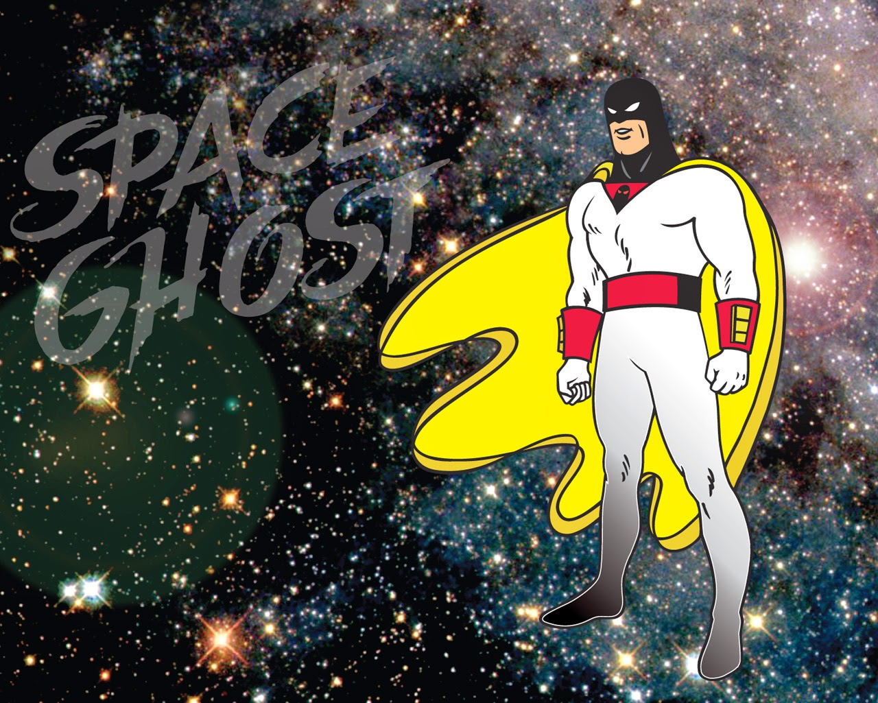 BEACH BUM COMICS : PROTECTOR OF THE UNIVERSE SPACE GHOST'S