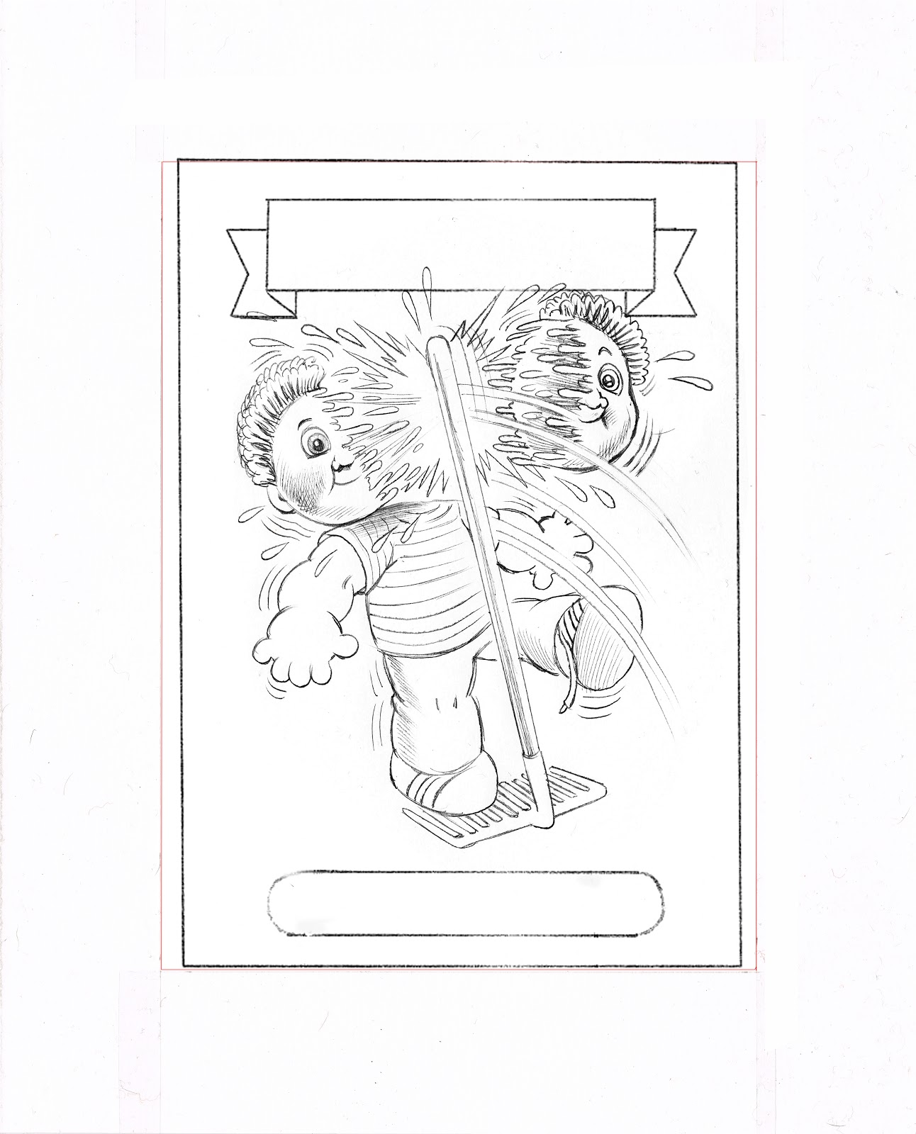 BRENT ENGSTROM'S BLOG: Garbage Pail kids Brand New Series