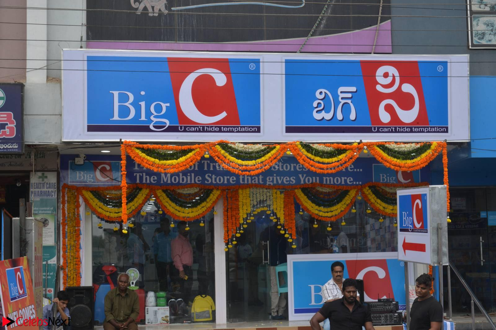 Rakul Preet Singh in a Designer saree at Launch of BIG C Show room at  Kurnool ~ Celebrities Galleries