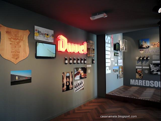 Sala cervejas belgas Visita Interativa De Koninck