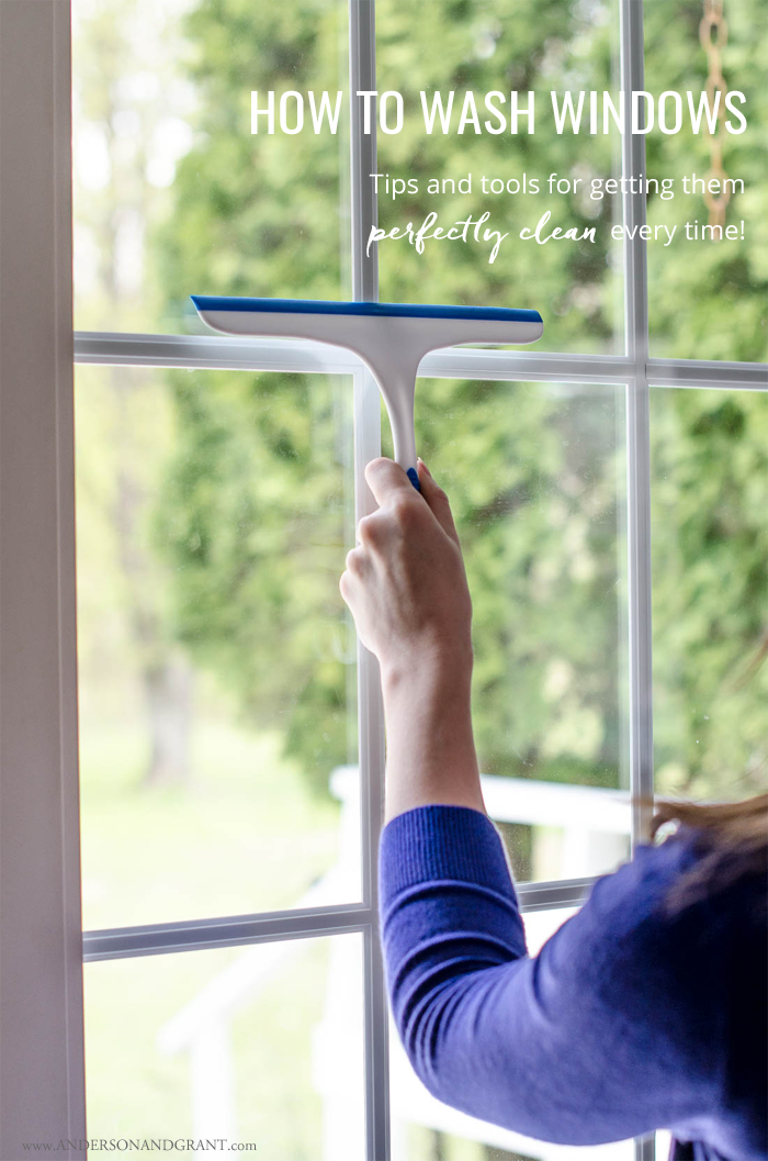 The tools you need to keep your windows sparkling clean #cleaning #cleaninghacks #homekeeping #andersonandgrant