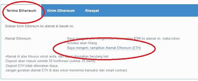 Cara Buat Wallet Ethereum di VIP