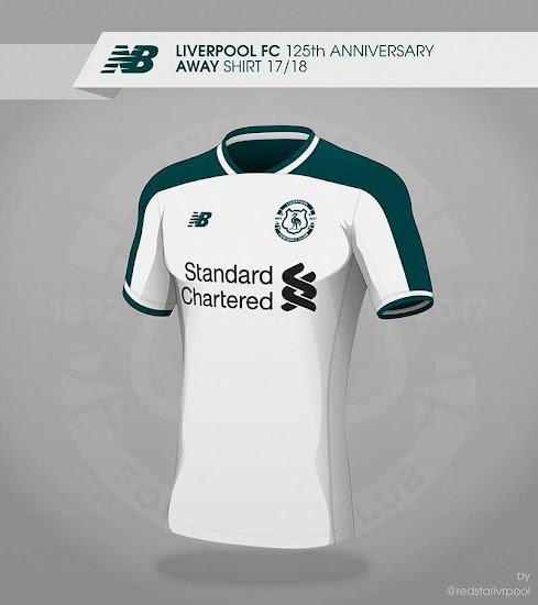1e53f2e8c Liverpool 17-18 Away Kit Concept
