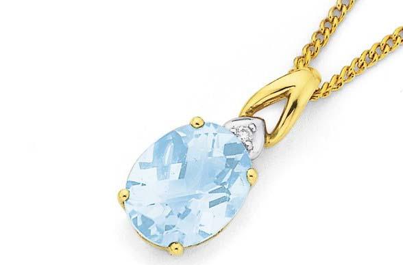 kalung emas permata