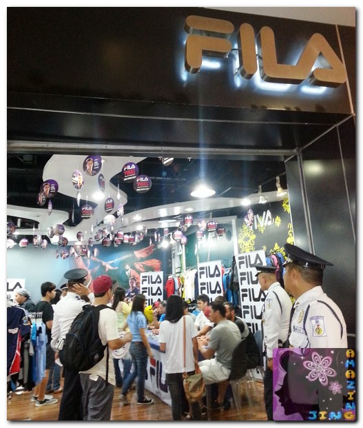 Amazing Jing for Life: FILA Phils. Supports Philippine