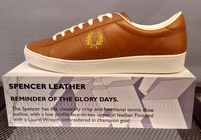 Fred Perry Leather Tennis Shoes