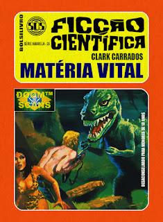 bolsilivro sos ficção científica cedibra série amarela clark carrados matéria vital