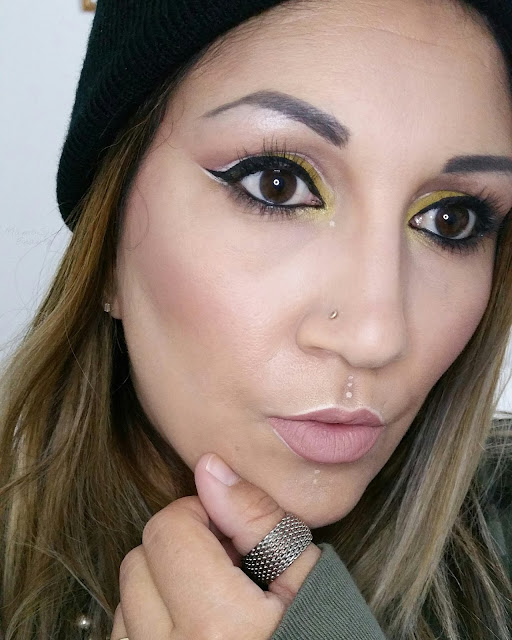 maquillage-moutarde-kiko-monday-shadow-challenge-defi-blog-beaute-msc