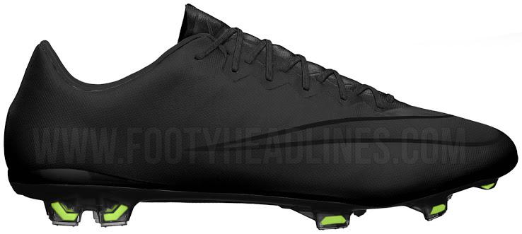 more photos 0aa59 709ae BlackOut Billige Fotballsko På Nett Nike Mercurial X Fotball Sko