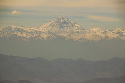 Piramide del Aconcagua Andes