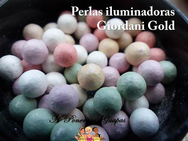 Perlas Iluminadoras Giordani Gold