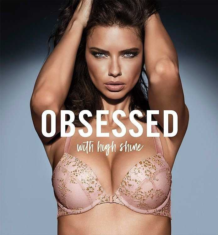Adriana Lima in Victoria's Secret Obsessed 2017
