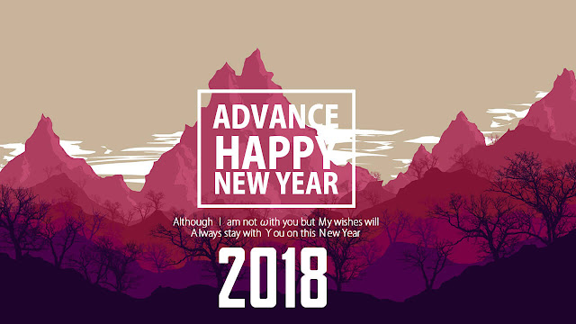 Happy New Year 2018 Quotation
