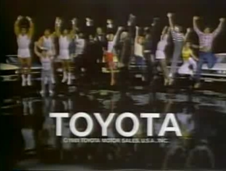 Toyota Jump 1980s What A Feeling