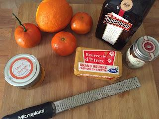 Appetit Voyage creative cooking Crepes Suzette