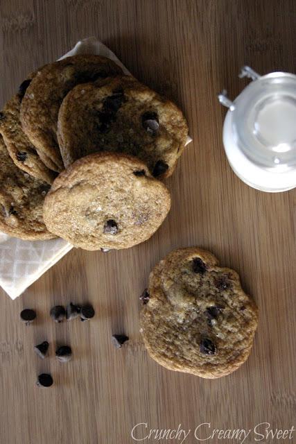 vegan+chocolate+chip+4 CCC Monday: Vegan Chocolate Chip Cookies