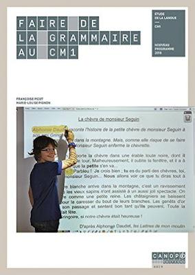 Faire De La Grammaire Au CM1 PDF