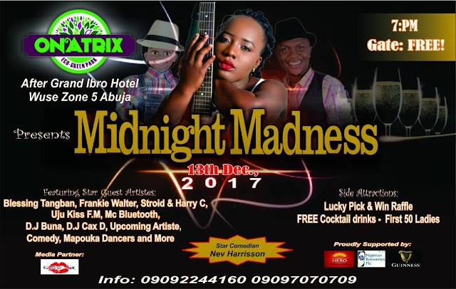 Abuja: Onatrix launches new park with Christmas Festival Party tagged 'Midnight Madness' and 'Happy Kids Festival'