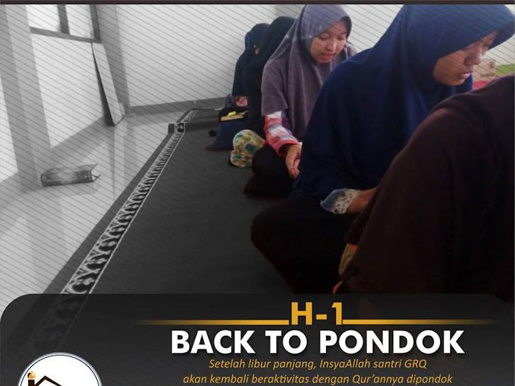 H-1 BACK TO PONDOK