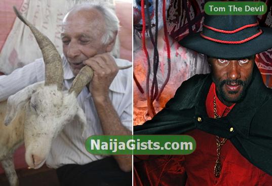 man to marry goat satan church