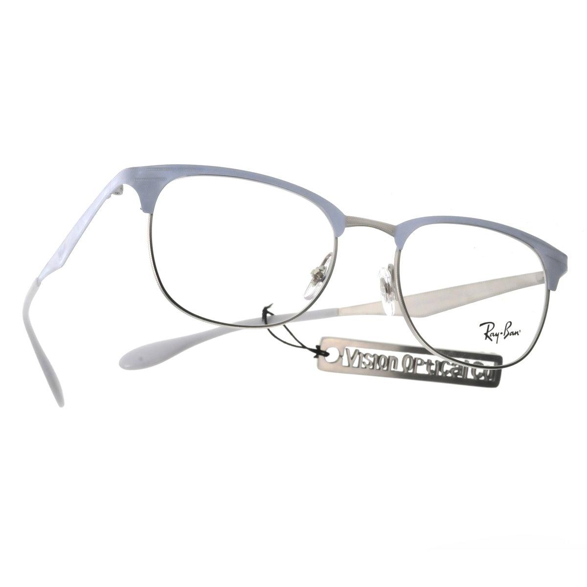 精明眼鏡公司: RAY BAN RB6346 眉款金屬眼鏡