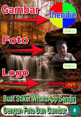 Cara membuat Stiker Whatsapp Sendiri dengan foto dan gambar pribadi