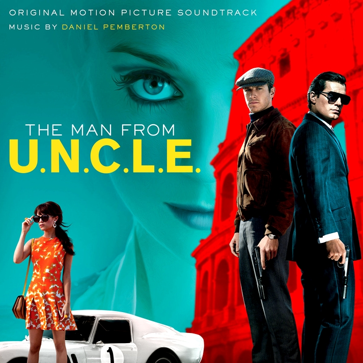 The man from U.N.C.L.E soundtrack