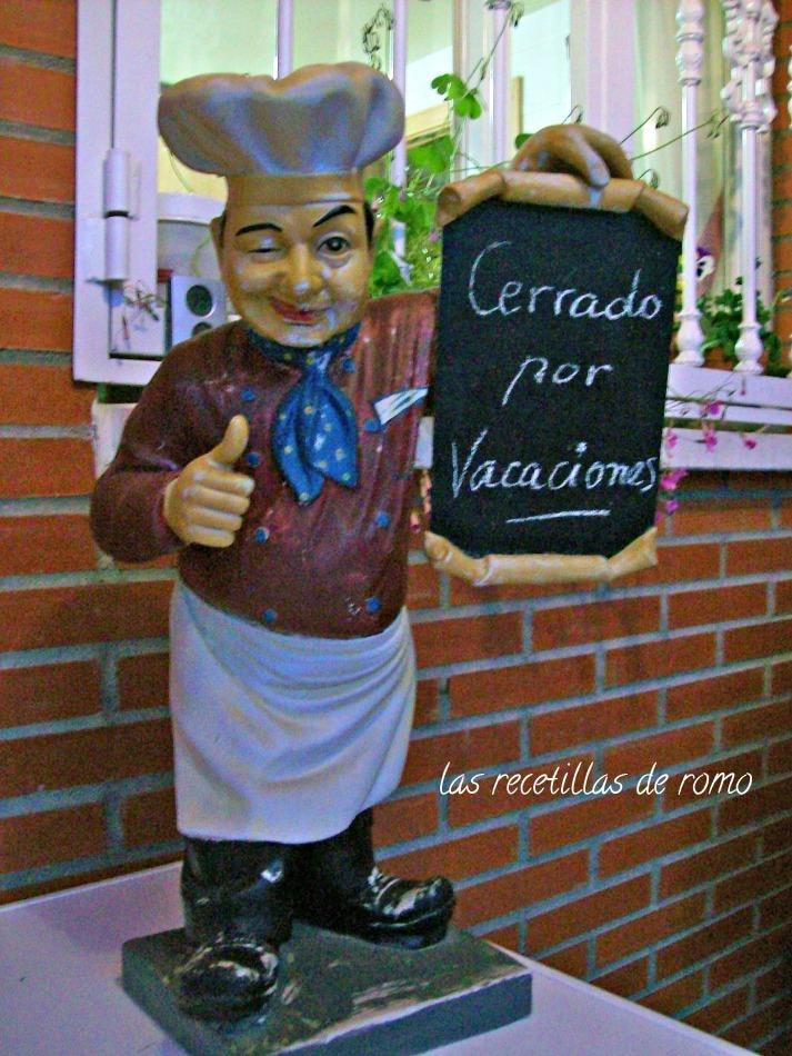 """""""vacaciones cocinero huerto"""""""