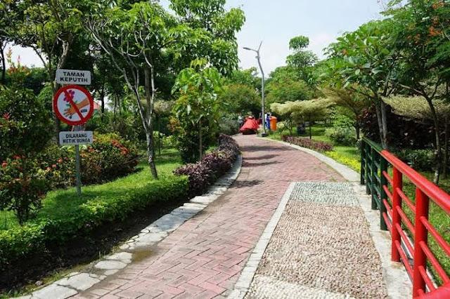 Taman Harmoni Surabaya cocok untuk tempat ngabuburit