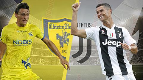 Chievo vs Juventus Serie A Italy Live 18.8.2018