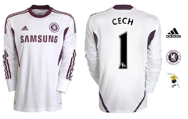 3592430755 Confira a nova Camisa Adidas Chelsea Goleiro Cech 2012 2013