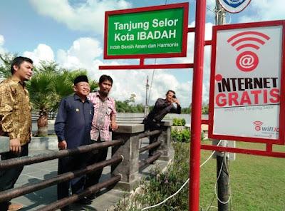 Daftar Lokasi Hotspot Atau Wifi Gratis Di Tanjung Selor Menuju Kota Smart City