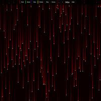 Matrix Pixels multicolor [Live Wallpaper Engine]