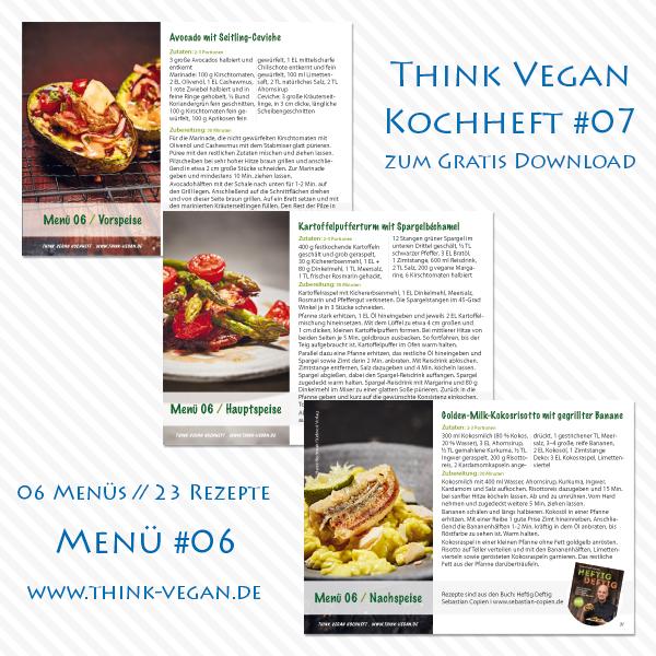 Think Vegan Kochheft #07 // Menü #06