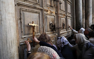 Jerusalem: The Church of the Holy Sepulcher reopened Wednesday morning