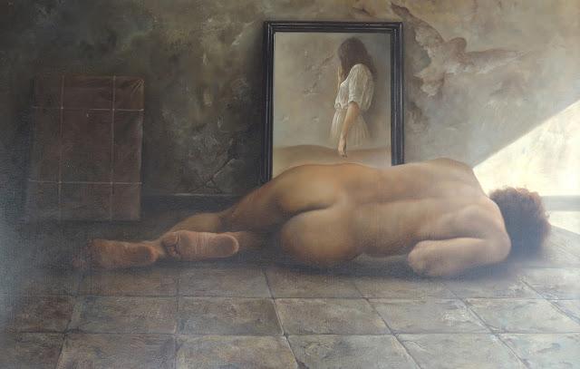 Alberto Pancorbo arte moderno hiperrealista surrealista imagen olvido pasado