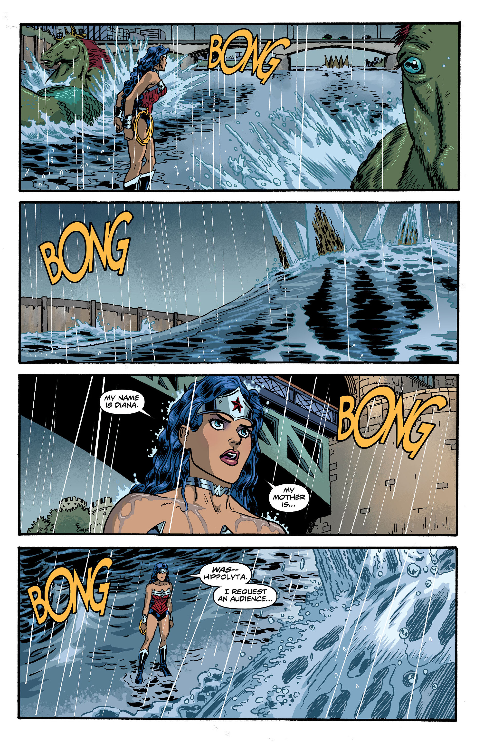 Read online Wonder Woman (2011) comic -  Issue #5 - 15