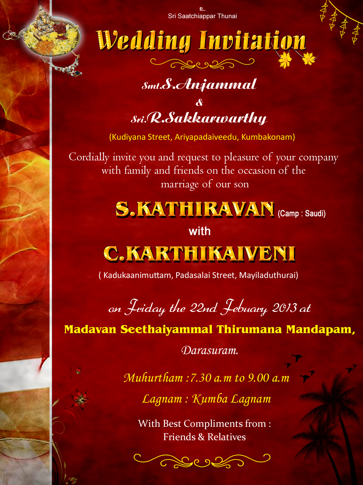 graphic design wedding wishes invitation  thanks card