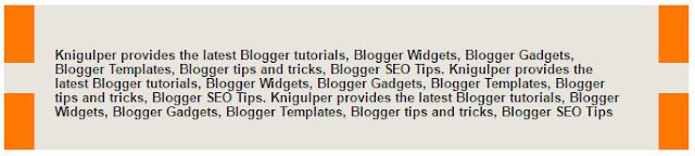 Blogger Blockquote widget style 6