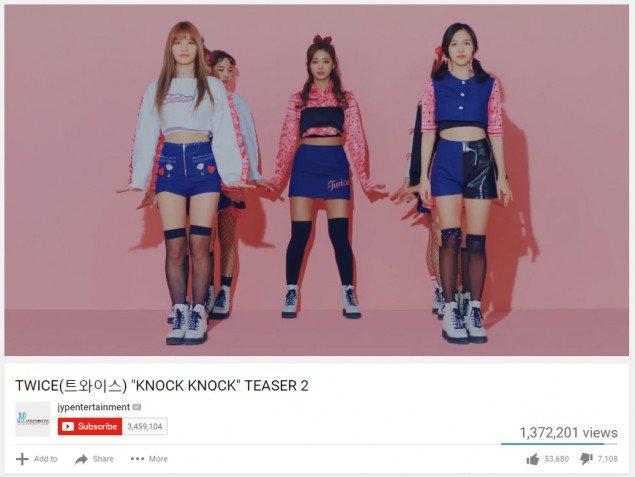 Teaser TWICE Mencapai 1 Hingga 2 Juta Di YouTube