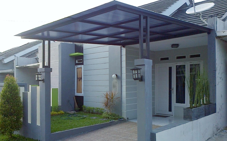 baja ringan teras rumah harga per meter kanopi 2020 brebes
