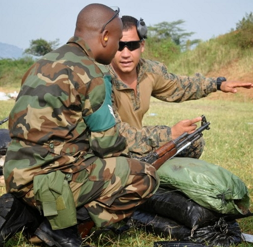 british soldiers train nigerian military