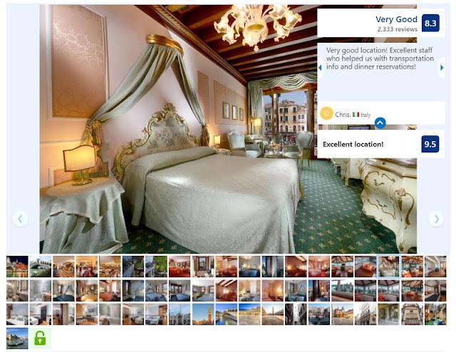 Hotel Rialto Unique na zona turística de Veneza