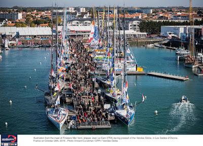Dimanche 6 novembre, départ du Vendée Globe. Demandez le programme !