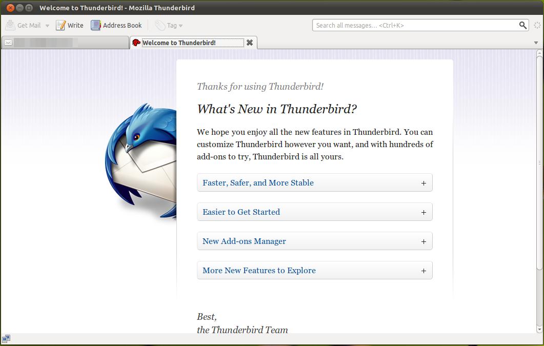 Thunderbird 5 Released, Install from PPA ~ Ubuntu Vibes