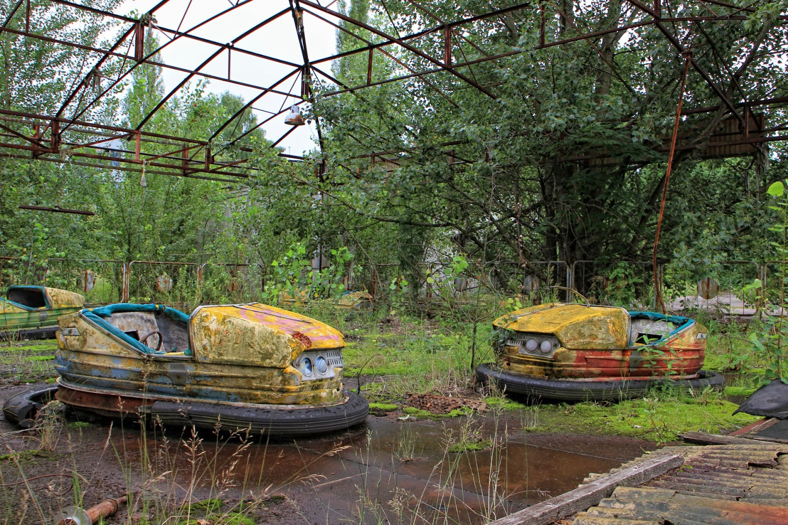 The Ghost Town of Pripyat.